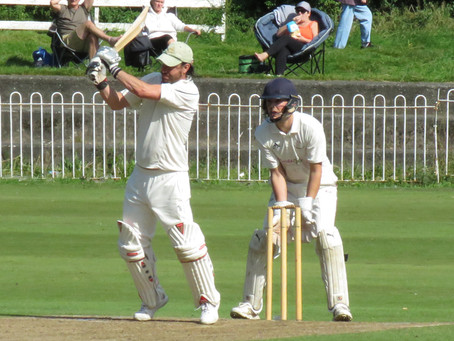 Weekend 19th/20th September. Richie Conlan century for First XI and Third XI win Restart Final