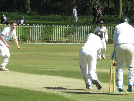 Weekend 24th/25th April - A lot of satisfaction for the First XI in defeat by Ormskirk