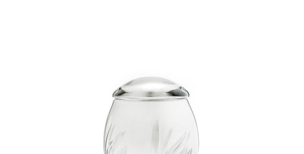 Crystal Bloom Silver Keepsake