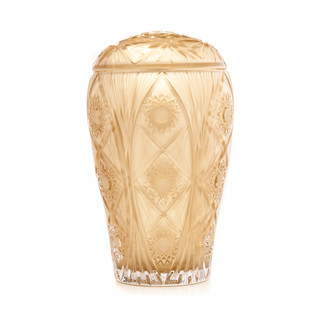 Crystal Lace cremation urn