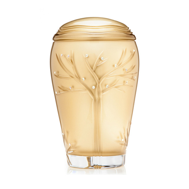 Golden Tree cremation urn