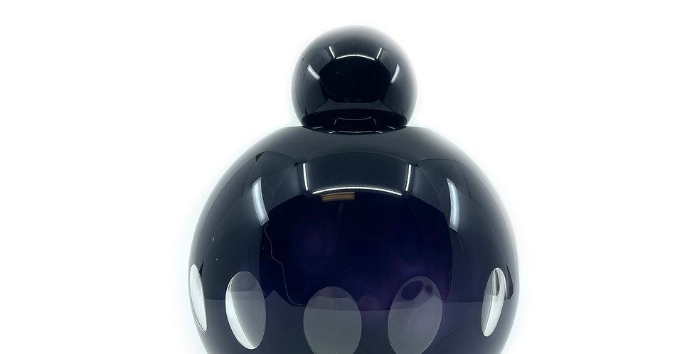 Dali in Black Glass