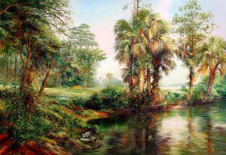 Old Florida Scene