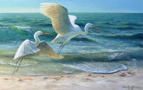 Seashore Flight