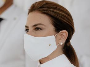 La última declaración de la moda: mascarillas