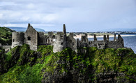 'Dunluce Castle' by Sandra Browne ( 8 marks )