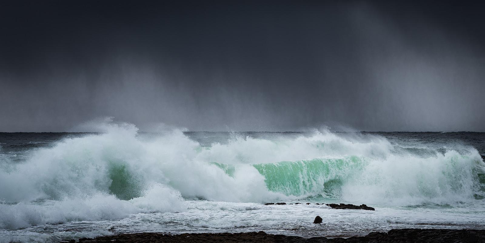 PDI - Storm on the West Coast by Pauline O'Flaherty (9 marks)