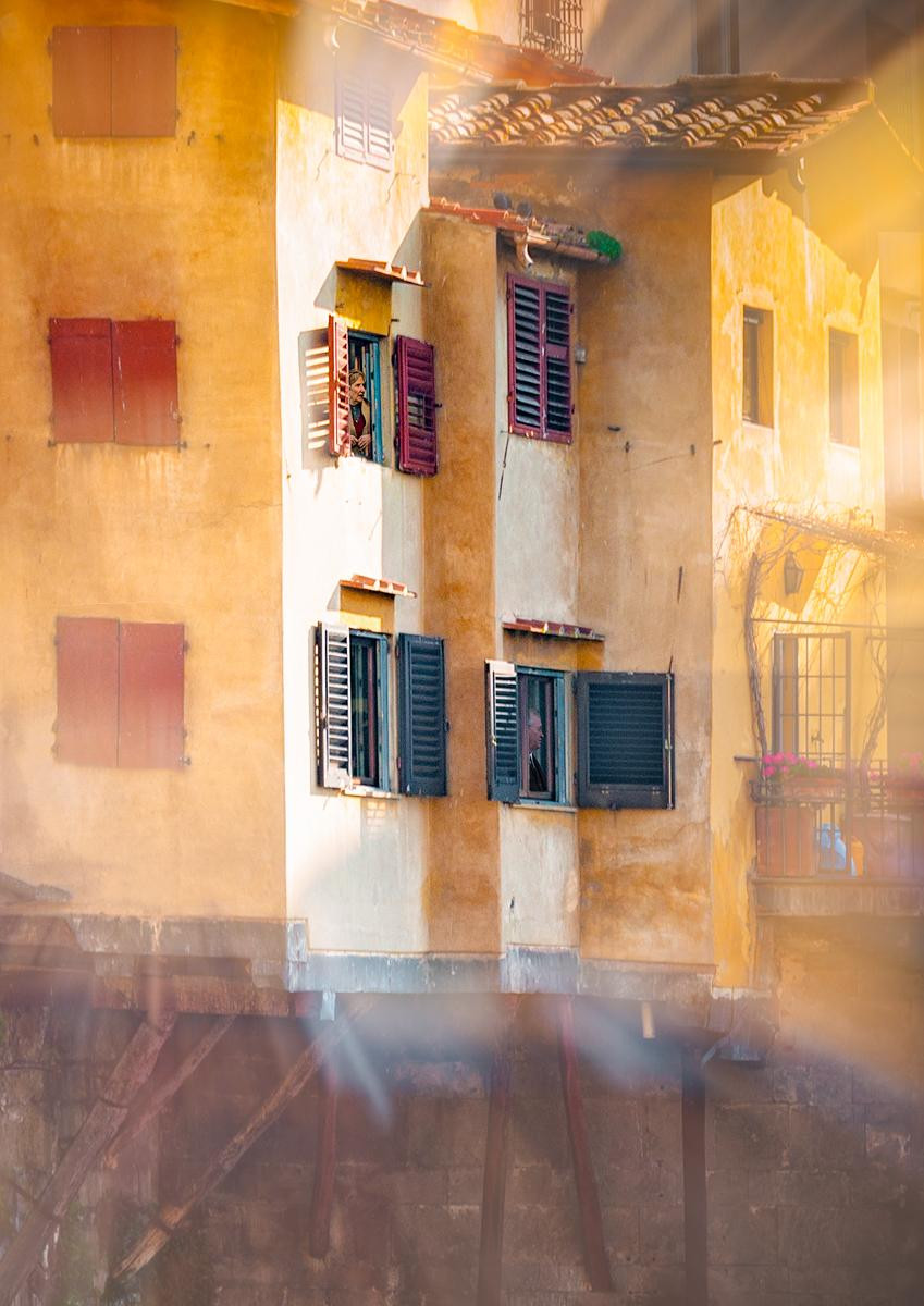 COLOUR - Living in Venice by Pauline O'Flaherty (11 marks)