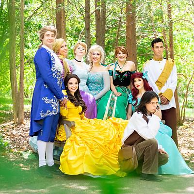 Princesses + Princes