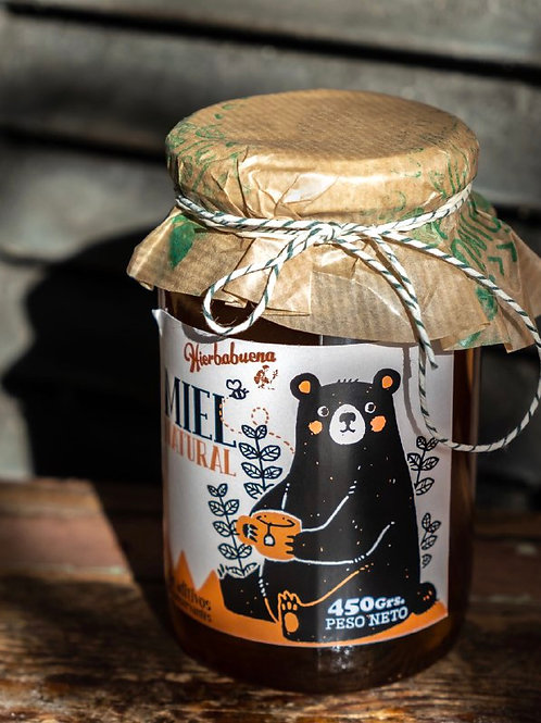 Miel Natural Orgánica x450g