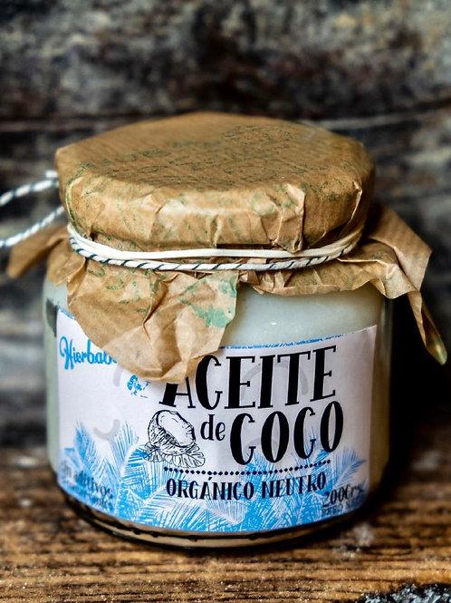 Aceite de Coco Orgánico Neutro x 200g
