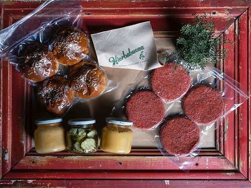 Pack Vegan Burger al vacío