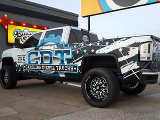 CDT Truck Wrap