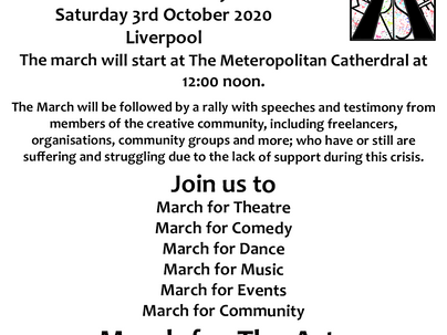 March for The Arts Protest and Rally