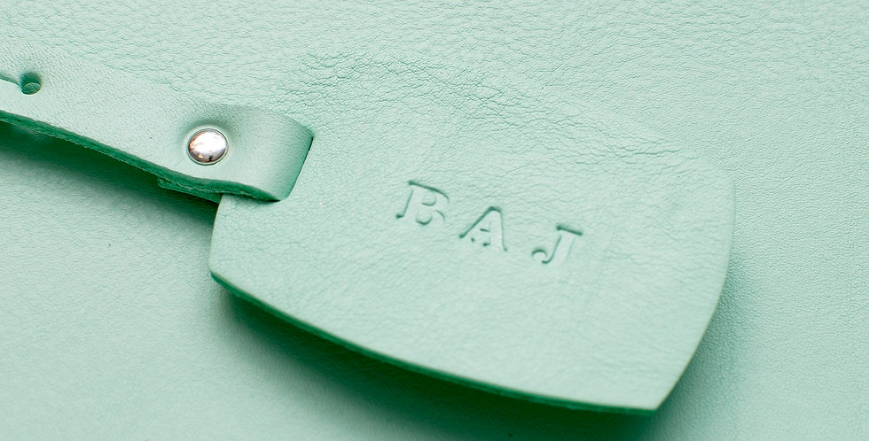 Rounded Rectangle Luggage Tag
