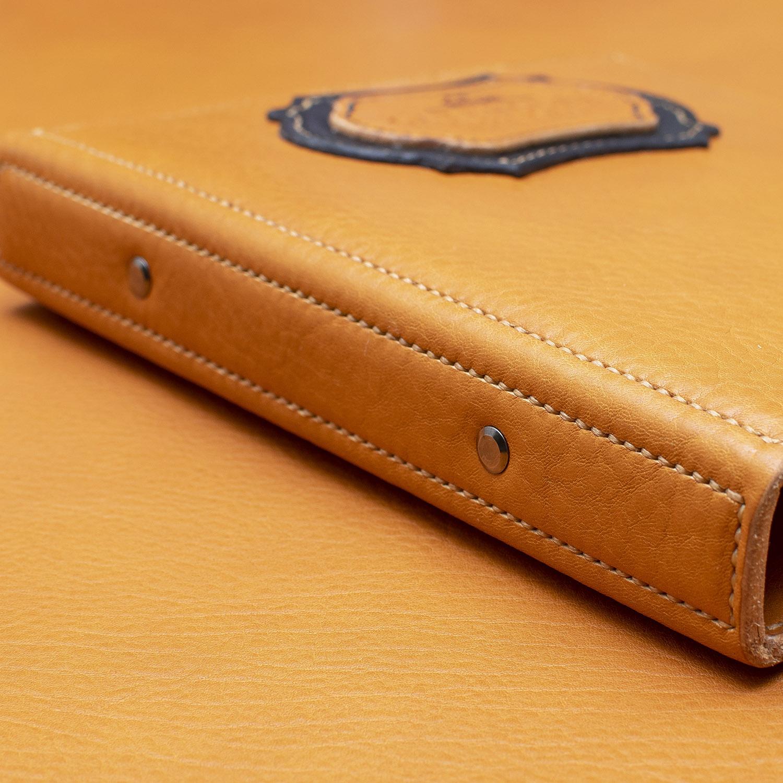 side of binder