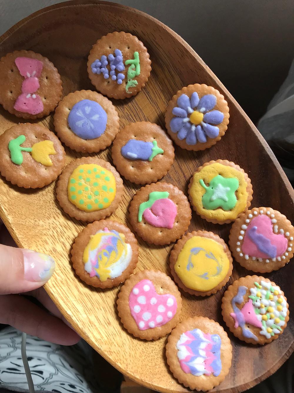 しおらぼ 福岡市 アイシングクッキー
