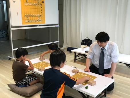 教育将棋の初回。