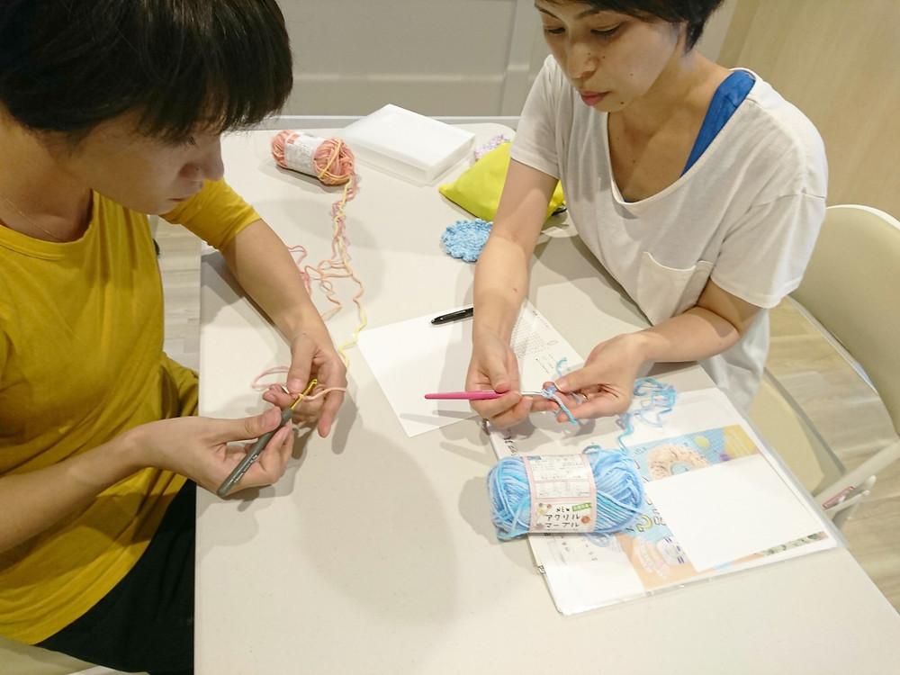 しおらぼ「かぎ編み教室」