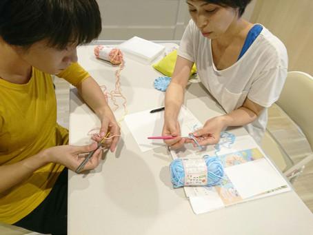 かぎ編み教室
