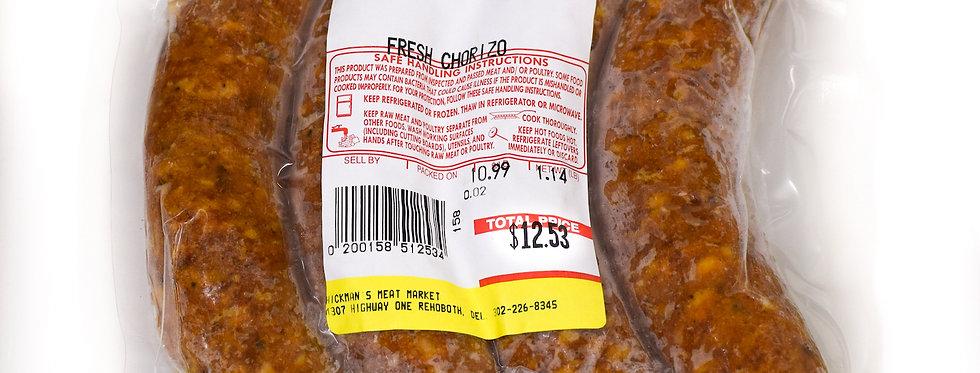 Fresh Chorizo