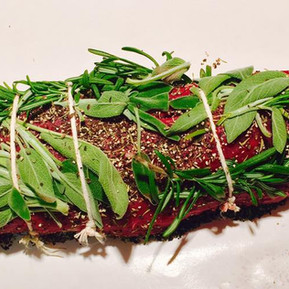BEEF TENDERLOIN WITH HERBS