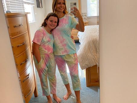 Mini and Me Tie Dye Pajamas