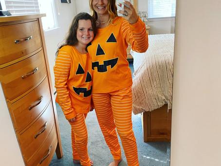 Target Pumpkin Pajamas