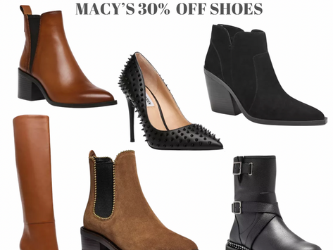 Macy's 30% off Shoes with CODE: FRIEND