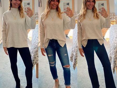 Sweater Styled Three Ways