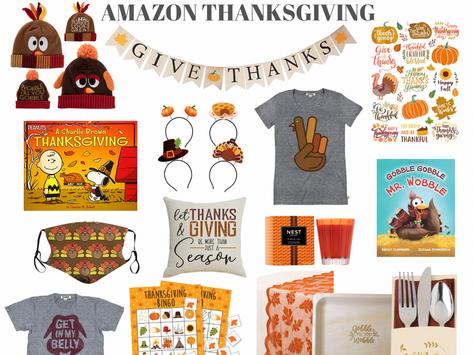 Amazon Thanksgiving
