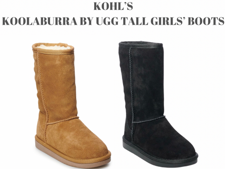 Kohl's Koolaburra by Ugg Tall Girls' Boots