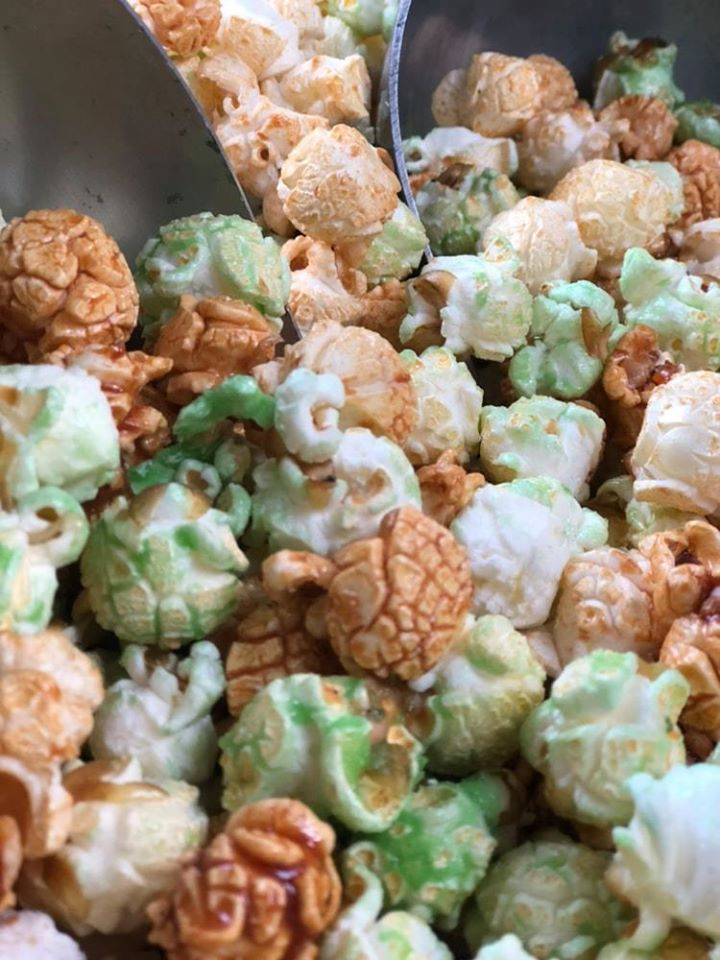 Caramel & Green Apple Popcorn