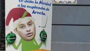 Empleados de Arecibo reclaman al alcalde pague el bono de Navidad que debe desde el 2016