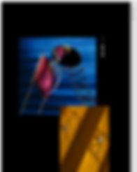 Portfolio projektanta zbudowane na Wix przedstawiające obraz okularów na krześle z lustrem.