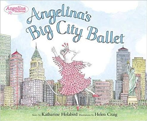 Angelina's Big City Ballet book
