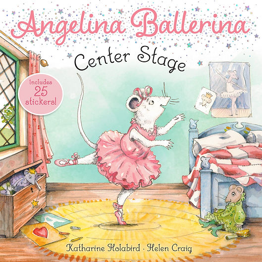 Angelina Center Stage book