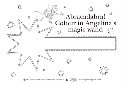 Angelina Ballerina magic wand