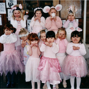 An Angelina Ballerina birthday party