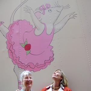 Katharine Holabird and Helen Craig in London