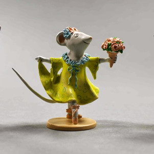 Dancing mice statuettes