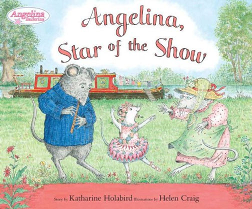 Angelina Star of the Show book