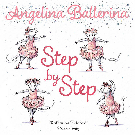 Angelina Ballerina Step by Step book
