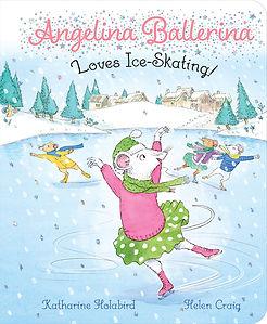 Angelina Loves Ice Skating Book
