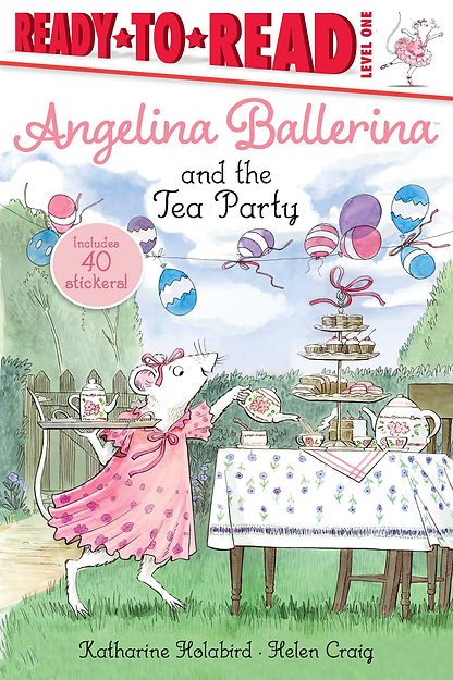 Angelina and the Tea Party book