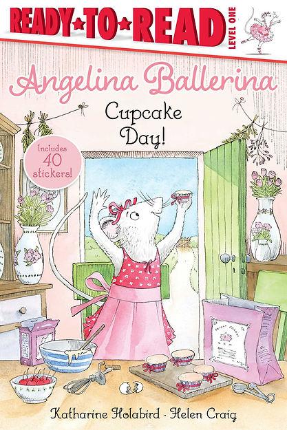 Angelina Ballerina Cupcake Day book