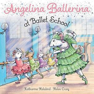 Angelina Ballerina at Ballet School book