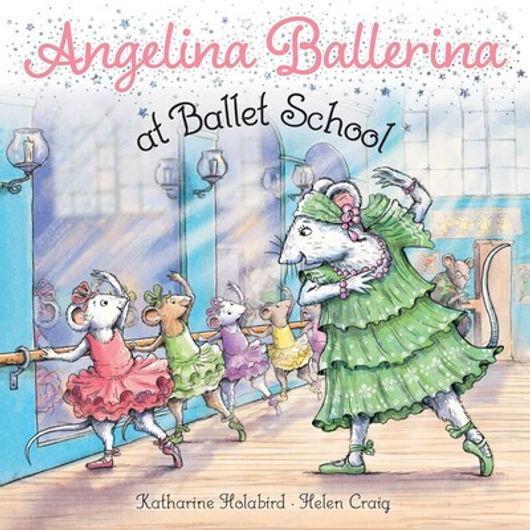 Angelina Ballerina at Ballet School
