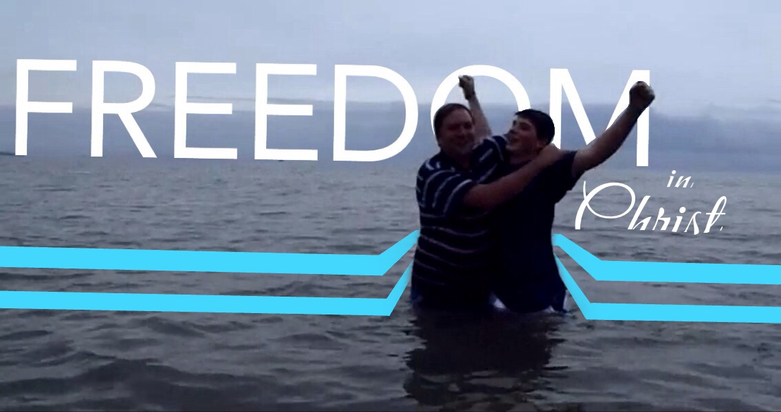 Freedom in Jesus.