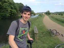 Bike trip.
